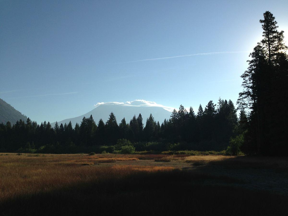 morning in Mount Shasta