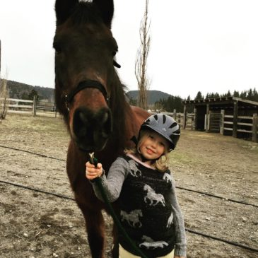 How horseback riding helps kids