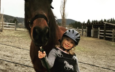 How horseback riding helps kids