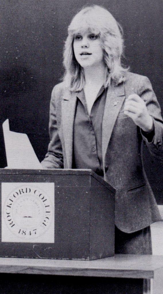 Kathy the debater